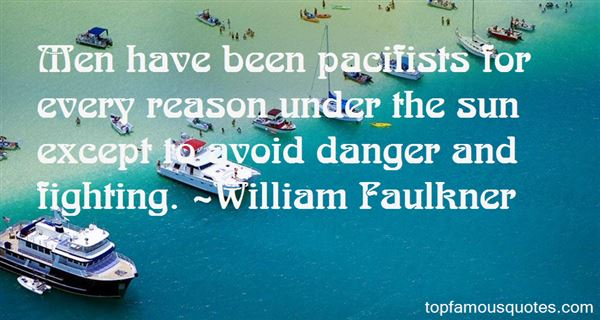 Quotes About Pacifist