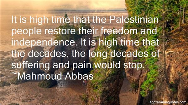 Quotes About Palestinian Freedom