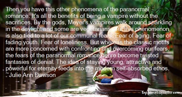 Quotes About Paranormal Romance