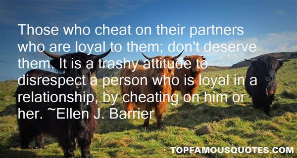 Quotes About Partner Cheating
