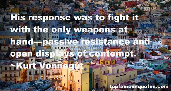 Quotes About Passive Resistance