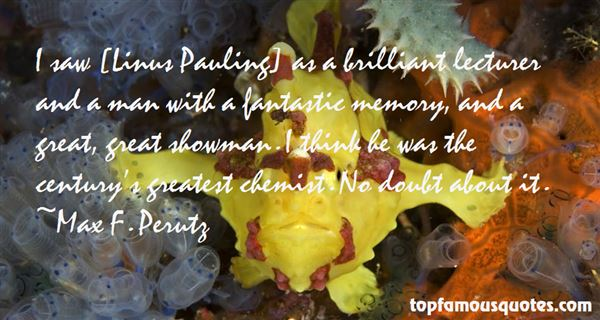 Quotes About Pauling