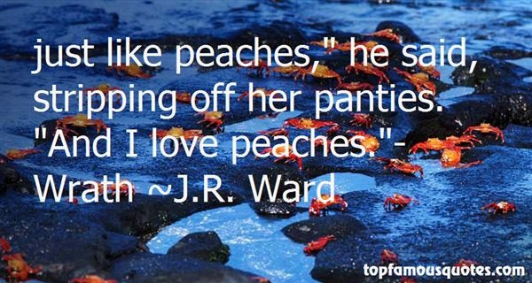 Quotes About Peaches