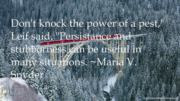 Quotes About Persistance