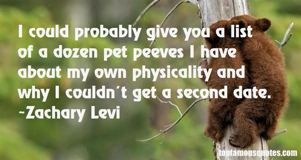 Quotes About Pet Peeves