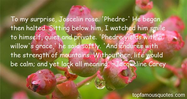Quotes About Phedre