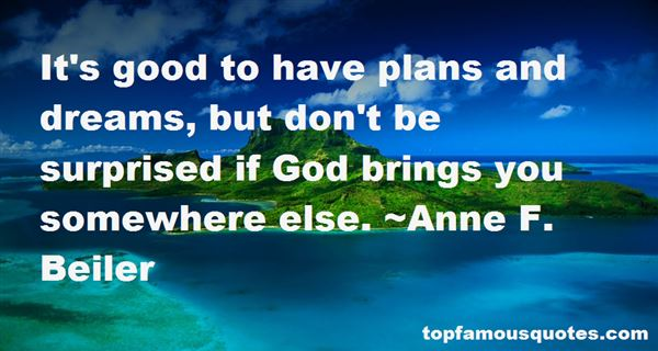 Quotes About Plans And God