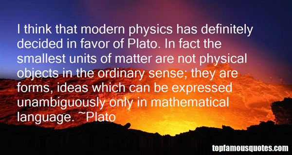 Quotes About Plato Forms