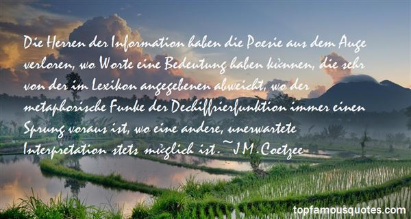 Quotes About Poesie