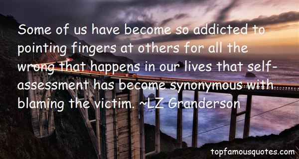 Quotes About Pointing Fingers At Others