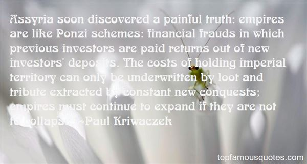 Quotes About Ponzi Schemes