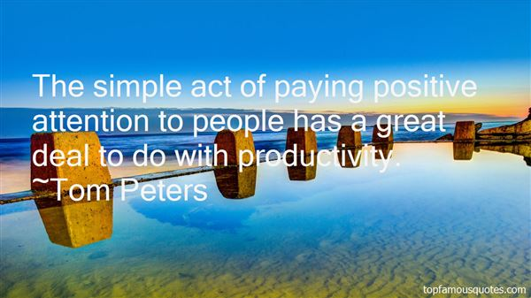 Quotes About Positive Productivity