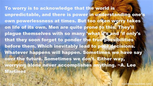 Quotes About Power And Powerlessness