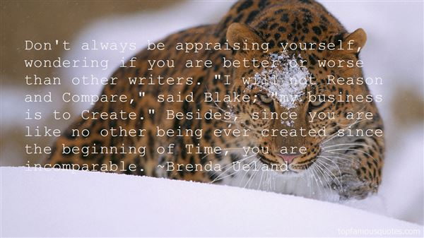 Quotes About Praising Yourself