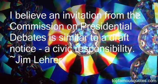 Quotes About Presidential Debates