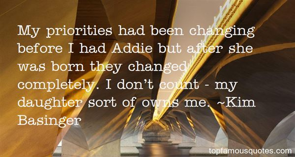Quotes About Priorities Changing