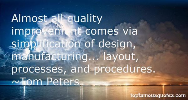 Quotes About Procedures