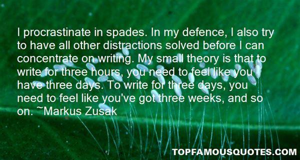 Quotes About Procrastinate