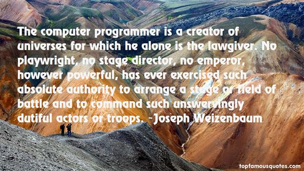 Quotes About Programmer