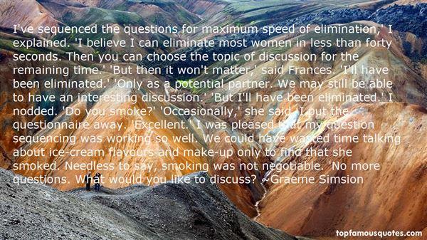 Quotes About Questionnaire