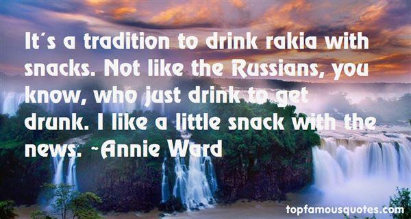 Quotes About Rakia
