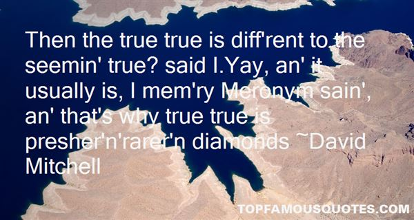 Quotes About Rare Diamonds