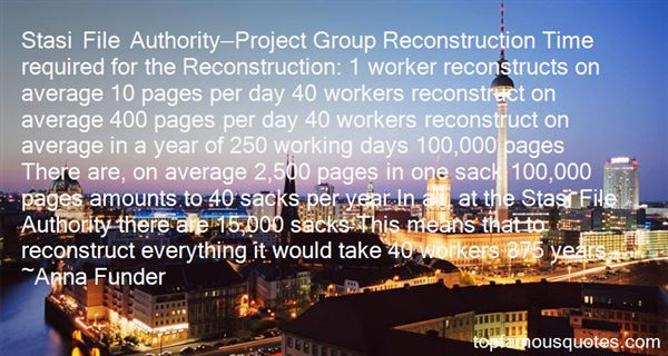 Quotes About Reconstruction Era