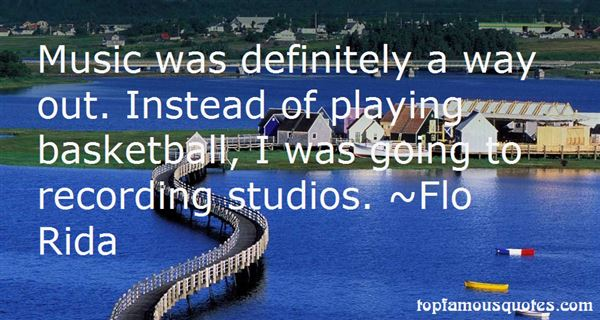Quotes About Recording Studios