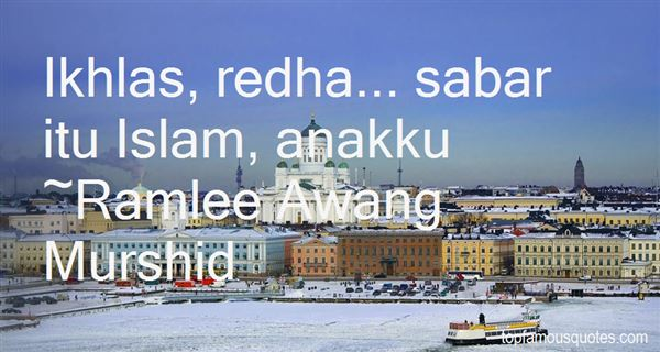 Quotes About Redha