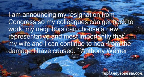 Quotes About Resignation From Work