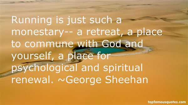 Quotes About Retreat And Renewal