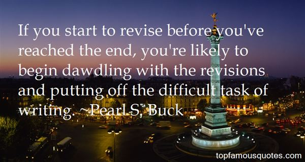 Quotes About Revision In Writing
