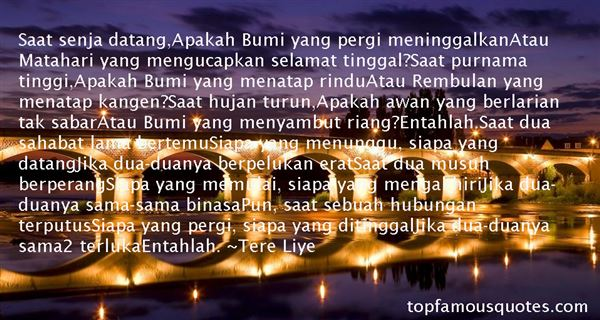 Quotes About Rindu