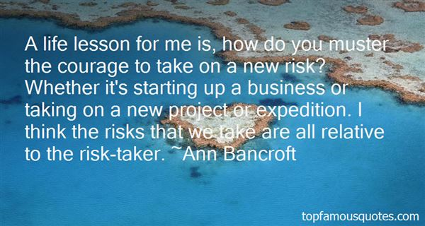 Quotes About Risk In Business