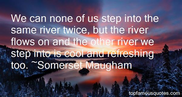 Quotes About River Flows