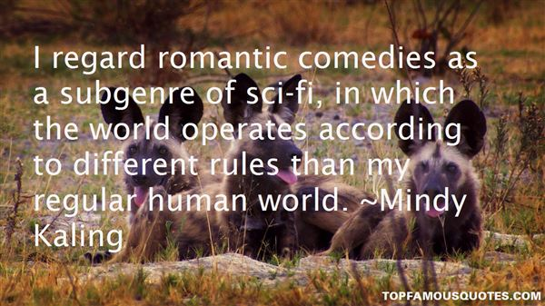 Quotes About Romantic Comedies