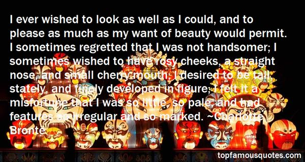 Quotes About Rosy Cheeks