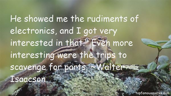 Quotes About Rudiments