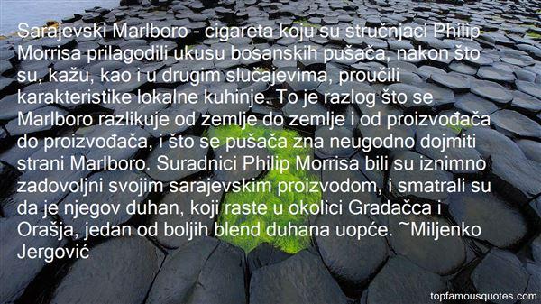 Quotes About Sarajevski