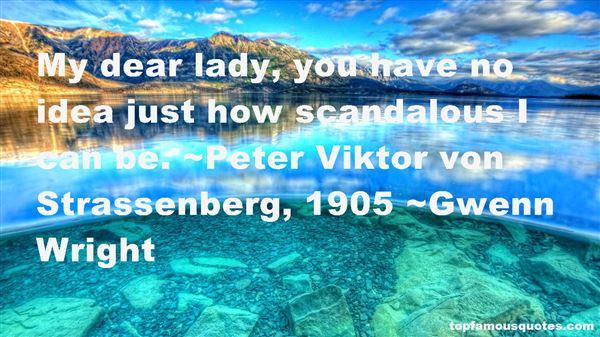 Quotes About Scandalous