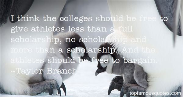 Quotes About Scholar Athletes