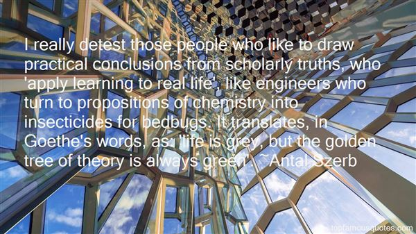 Quotes About Scholarly Learning