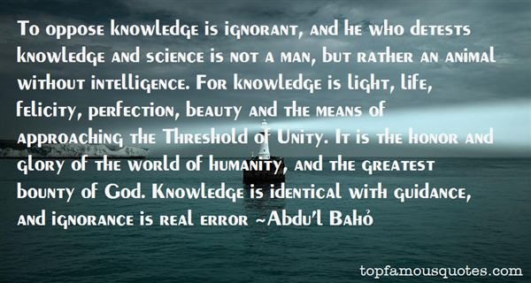 Quotes About Science And Humanity