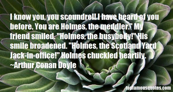 Quotes About Scotland Yard