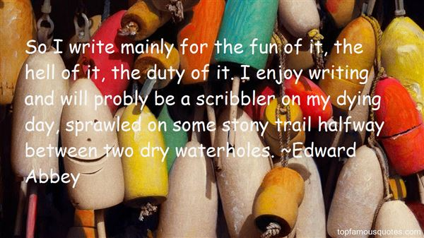 Quotes About Scribbler