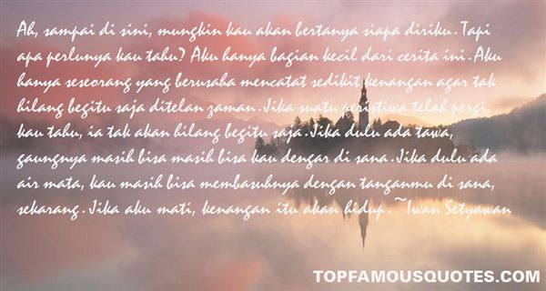 Quotes About Sedikit