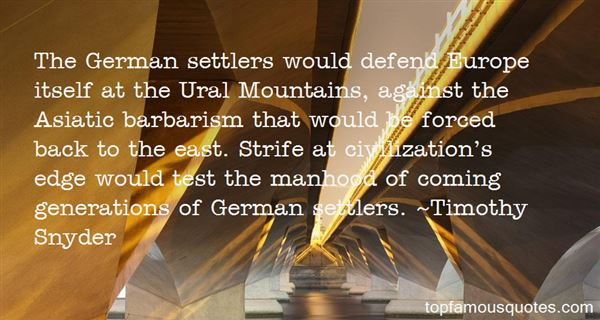 Quotes About Settlers
