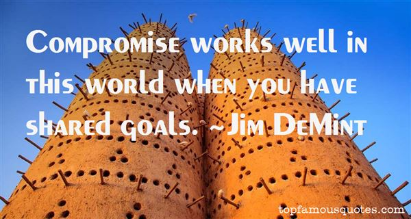 Quotes About Shared Goals