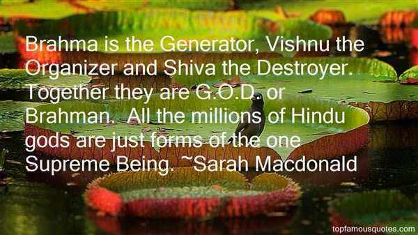Quotes About Shiva The Destroyer