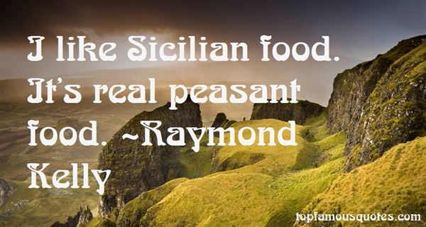 Quotes About Sicilian Food